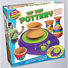 Small World Toys Tip Top Pottery Wheel