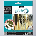 Pebeo Gedeo Mirror Effect Metal Leaf Pack of 12