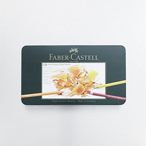 Faber-Castell Polychromos Artist Pencils Set of 120 | Cass Art