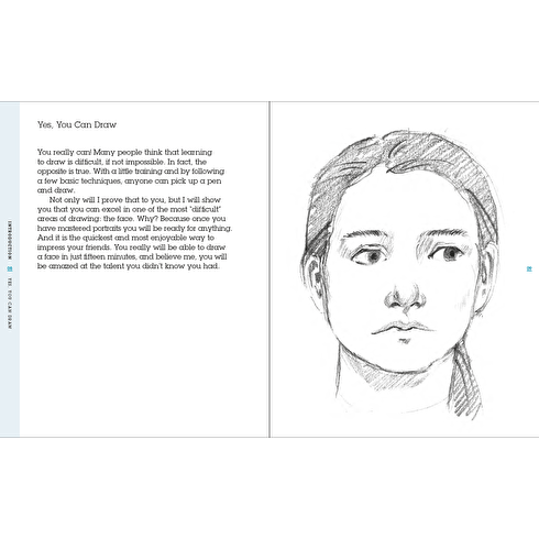 Draw Faces in 15 Minutes by Jake Spicer