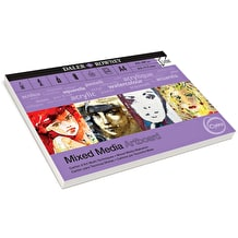 Daler Rowney Optima Mixed Media Artboard 10 Sheets A4