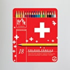Caran D'ache Red Line Water-soluble Colour Pencil Set of 18