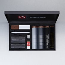 Caran D'ache Graphite Line Satin Gift Box Black Set
