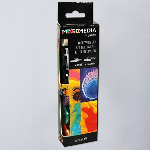 Pebeo Mixed Media Discovery 20ml Assorted Colours Set of 6