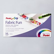 Pentel Fabric Pastel Set of 15