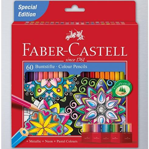 Faber-Castell Classic Pencils Set of 60 | Cass Art