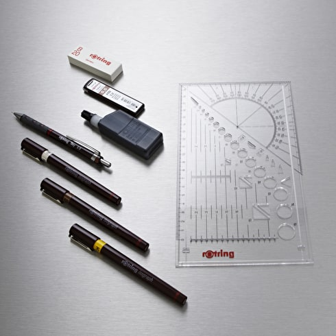 Rotring Isograph College Set Black | Cass Art