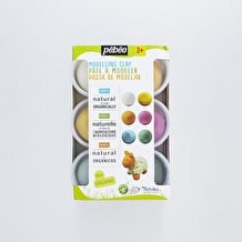 Pebeo Dicovery Organic Modelling Clay Pots Set of 6