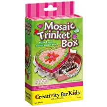 Creativity For Kids Mosaic Trinket Box Mini Kit