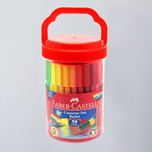 Faber-Castell Connector Pen Bucket Set of 50