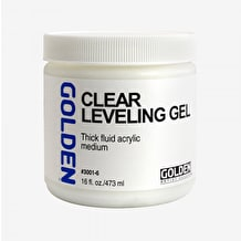 Golden Self Levelling Clear Gel