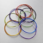 Seawhite Jewellery Wire Pack of 10 0.7mm x 1m Assorted Colours