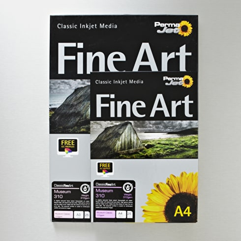 Permajet Inkjet Paper Textured Fine Art Museum Classic 310gsm