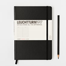 Leuchtturm1917 A5 Plain Notebook