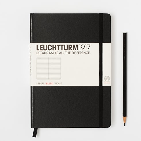 Leuchtturm1917 A5 Ruled Notebook