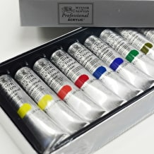 Winsor & Newton Professional Acrylic Colour Set of 12 20ml