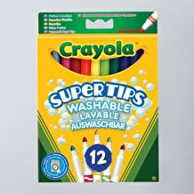 Crayola Supertips Bright Colours Set of 12