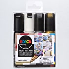 Posca Paint Marker PC-8K 8mm Mono Tones Set of 4