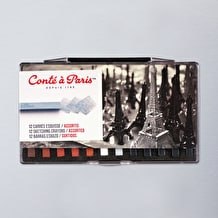 Conte Carres Crayon Traditional Set of 12