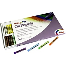 Pentel Arts Oil Pastel Set of 50
