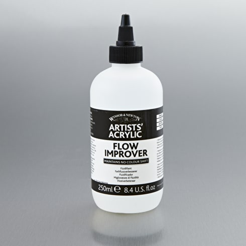 Winsor & Newton Artists' Acrylic Flow Improver 250ml | Cass Art