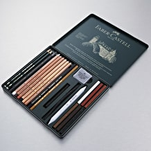 Faber-Castell Pitt Monochrome Set Medium