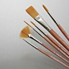 Cass Art Synthetic Brushes Set of 6