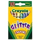 Crayola Glitter Crayons Pack of 16 Assorted Colours