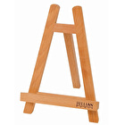 JULLIAN Oiled Beechwood Table Easel with Fixed Canvas Holder
