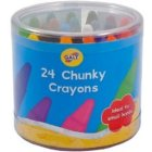 Galt Chunky Crayons Set of 24 Assorted Colours