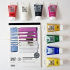 Deana Kim Acrylic Painting Set with Paints, Paper & Brushes