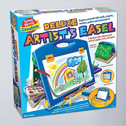 Small World Toys Deluxe Artists Easel