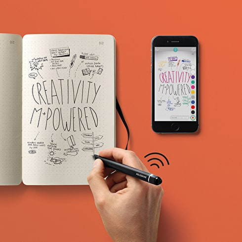 Moleskine Smart Writing Paper Tablet & Pen Set