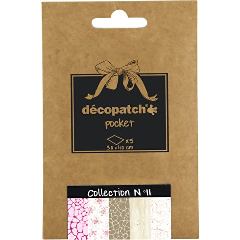 Decopatch Pocket Coordinated Papers No. 11