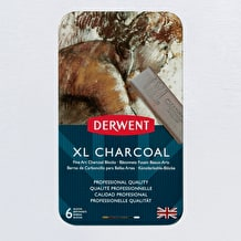 Derwent XL Charcoal Tin Set of 6