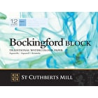 Bockingford Watercolour Paper Block Cold Pressed 300gsm 12 Sheets