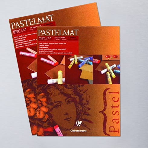 Pastelmat Pastel Paper 12 Sheets 360gsm Assorted Shades | Cass Art