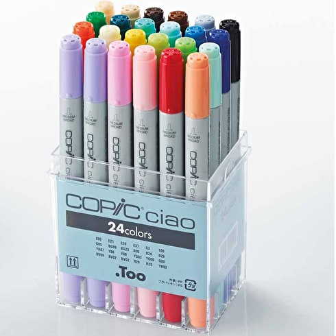 Copic Ciao Markers Set of 24 | Cass Art