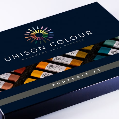 Unison Pastel Portrait Colours Set of 72