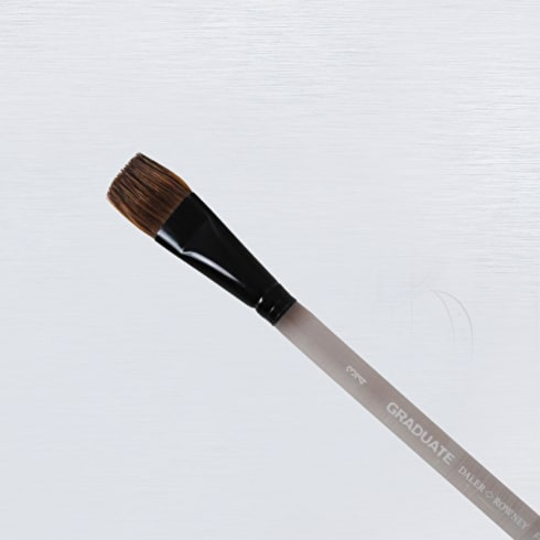 Daler Rowney Graduate Pony / Synthetic Flat Wash Brush