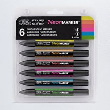 Winsor & Newton NeonMarker Set of 6