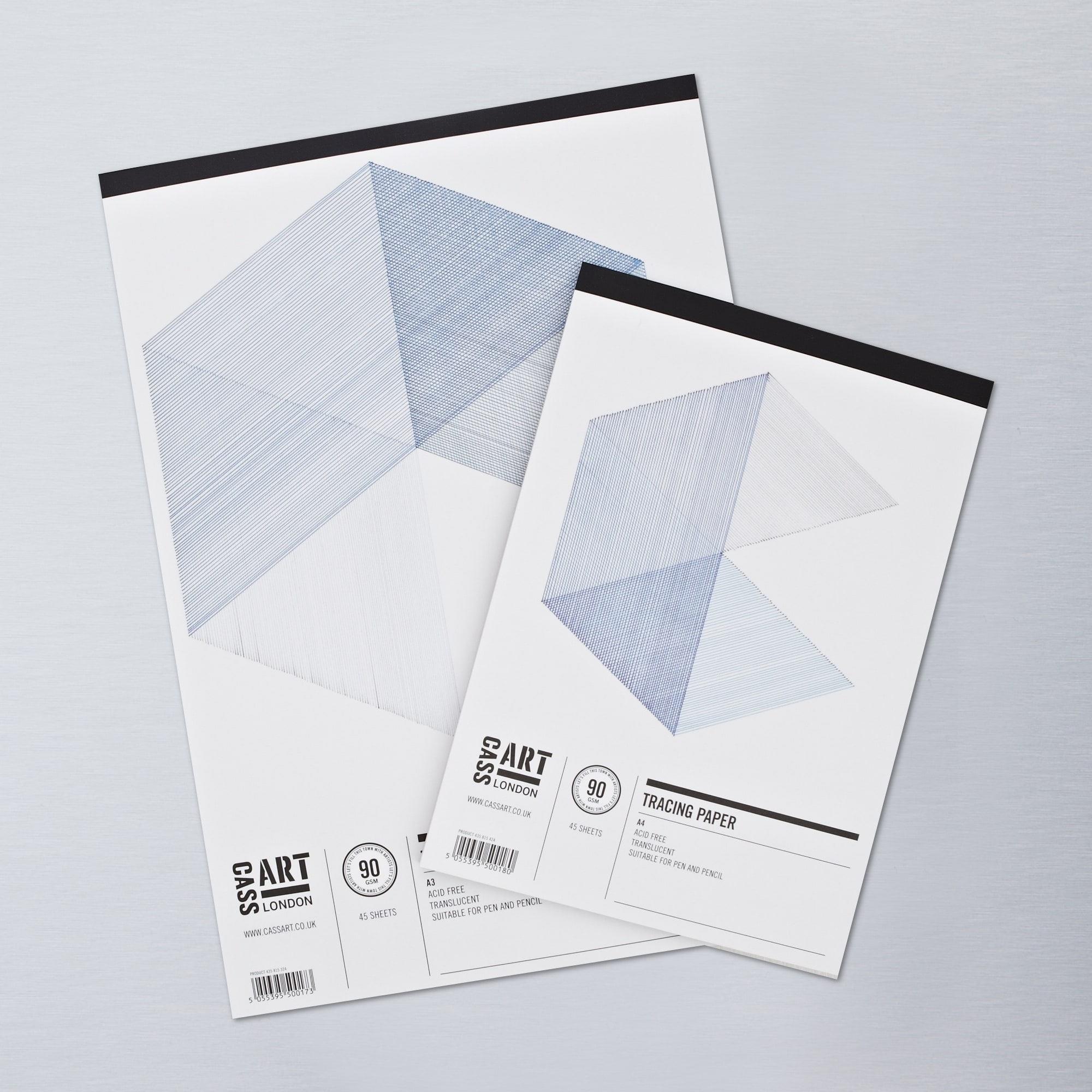 Cass art tracing 90gsm pad 45 sheets buy graphic paper for Buy blueprint paper