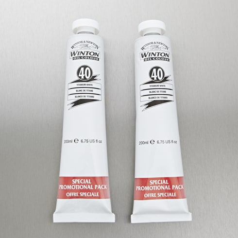 Winsor & Newton Winton Oil Colour 200ml Double Pack | Cass Art Exclusive