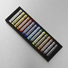 Rembrandt Soft Pastels Full Length Set of 15 Assorted Colours