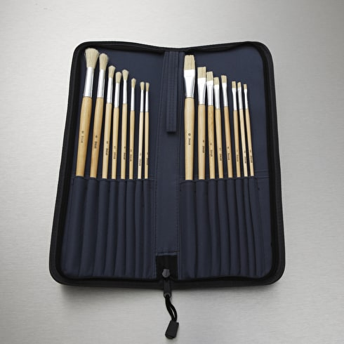 Jakar Long Handle Brush Set Pack of 16 | Cass Art