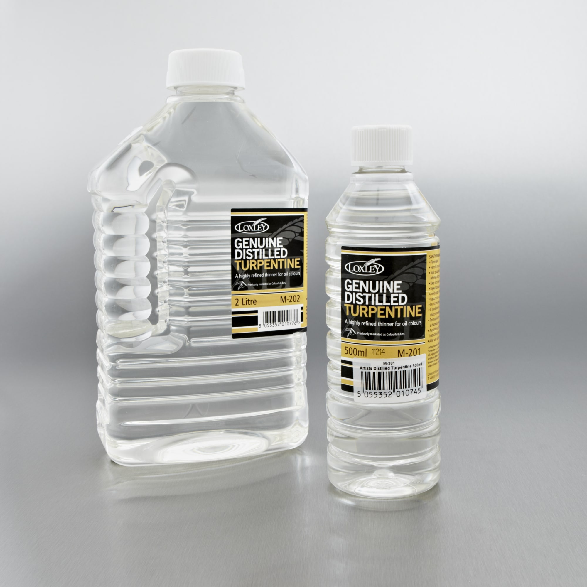 Distilled Water In Acrylic Paint