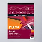 Daler Rowney Murano Fine Art Paper Pad 160gsm 30 Sheets Warm Colours