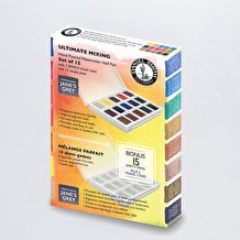 Daniel Smith Ultimate Mixing Watercolour Half Pan Set of 15
