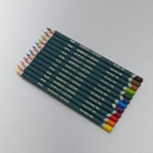Derwent Artists' Pencils Tin Set of 12 Assorted Colours