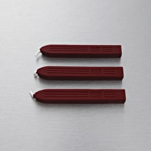Manuscript Sealing Wax Pack of 3 Red